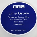 Commemorating famous BBC buildings