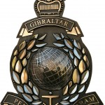 Bronze Military Marines Crest