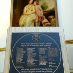 Honouring winners of the Victoria Cross