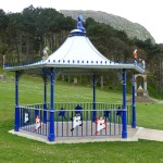 A bandstand with a difference!