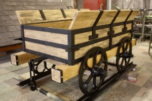 Replica plateway wagon, Merthyr