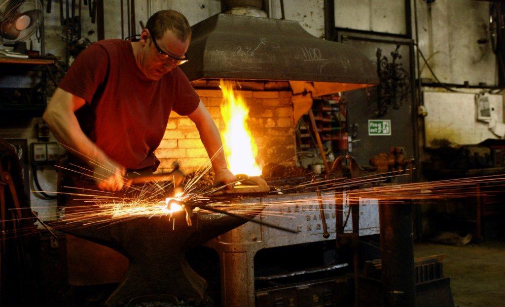 Leander Architectural - Blacksmith at work!