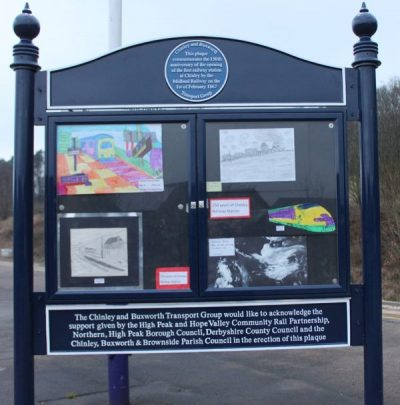chinley_railway_station_noticeboard_unveiling!